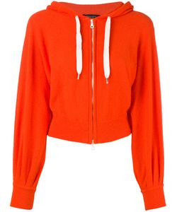 Roberto Collina | Cropped Zip Front Hoodie