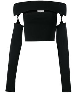Mcq Alexander Mcqueen | Cut-Out Cropped Top