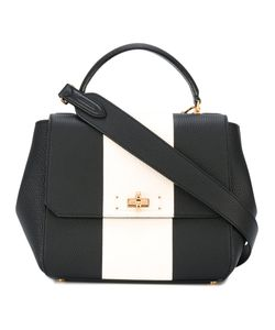 Bally | Stripe Front Shoulder Bag Calf Leather