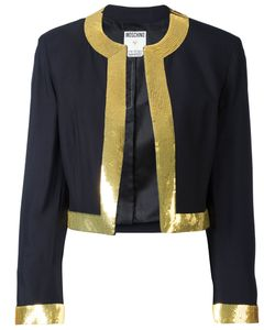 MOSCHINO VINTAGE | Sequin Trim Jacket Size