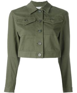 T By Alexander Wang | Cropped Denim Jacket 6
