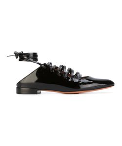Givenchy   Lace-Up Ballerinas 38