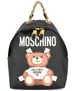 Moschino | Toy Bear Paper Cut Out Print Backpack Polyurethane/Polyester