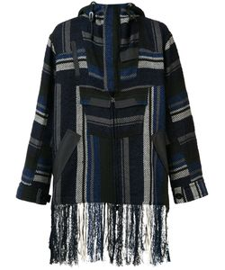 Sacai | Fringed Mexican Stripe Parka 2 Cotton/Rayon