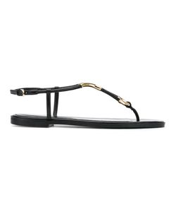 Sergio Rossi | Rounded Thong Sandals Size 38