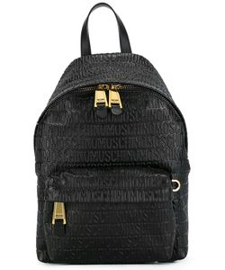 Moschino | Logo Embossed Backpack Leather