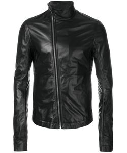 Rick Owens | Mollinos Biker Jacket 44 Leather/Cupro/Cotton
