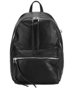 Rick Owens   Fringe Detail Backpack Calf Leather