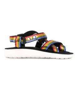Marc Jacobs | Rainbow Sequined Sandals Size 38