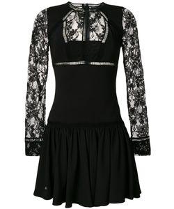 Philipp Plein | Короткое Платье С Кружевными Панелями