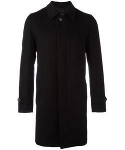 Herno | Concealed Fastening Coat 48 Cashmere/Cupro