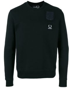 Raf Simons X Fred Perry | Embroidered Logo Pocket Sweatshirt
