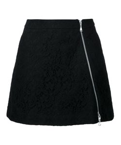 GUILD PRIME | Zip Up Lace Skirt 36 Cotton/Nylon/Rayon