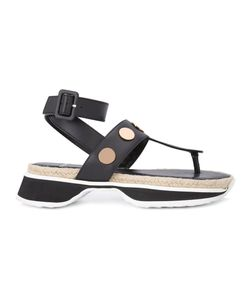 Pierre Hardy | Penny Sandals 36 Calf Leather/Leather/Rubber