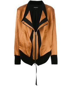 Ann Demeulemeester | Shift Zipped Jacket 36 Silk/Linen/Flax/Rayon/Rayon