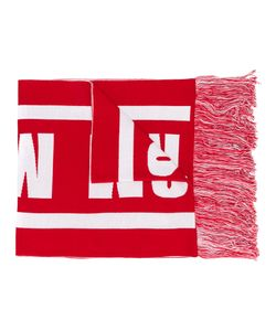 MSGM   Шарф С Логотипом Вязки Интарсия