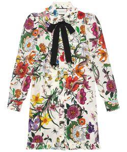 Gucci | Платье С Цветочным Принтом