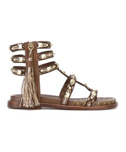 Ash | Tassel-Embellished Sandals 39