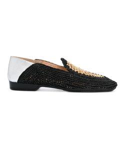 Robert Clergerie | Feria Slippers Size 40