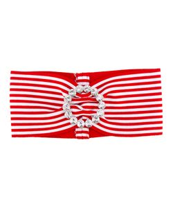 Alessandra Rich | Striped Headband