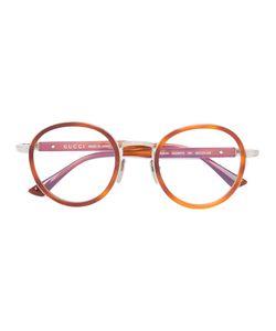 Gucci Eyewear | Wide Bridge Round Glasses