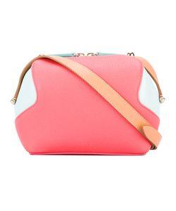 Delpozo | Bicolour Crossbody Bag Calf Leather