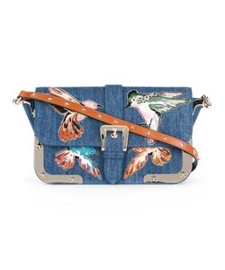 Red Valentino | Embroide Birds Shoulder Bag Cotton