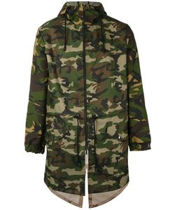 Lc23   Camouflage Print Parka Xs