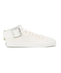 Raf Simons | Spirit Buckle Sneakers 6 Cotton/Rubber/Leather