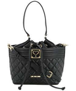 Love Moschino | Quilted Grab Handle Bag