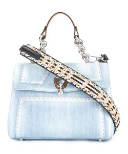 Ermanno Scervino | Denim Tote Bag Cotton/Leather/Brass