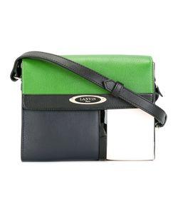 Lanvin | Colour Block Shoulder Bag Calf Leather/Cotton