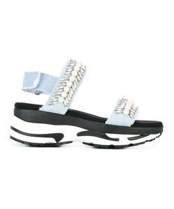 Suecomma Bonnie | Platform Sandals 40 Cotton/Neoprene/Glass/Rubber