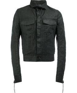 CEDRIC JACQUEMYN | Cropped Denim Jacket 50 Cotton/Ramie/Polyester