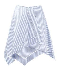 J.W. Anderson | J.W.Anderson Striped Asymmetric Skirt 10 Cotton