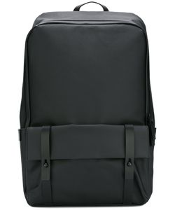 GEAR3 | Front Pocket Backpack Leather/Canvas