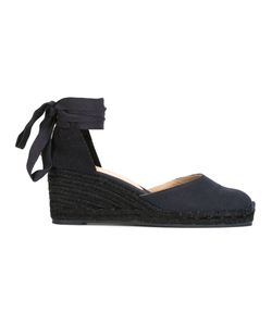 Castañer   Carina Sandals 40 Leather/Canvas/Rubber