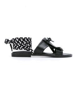 Manolita | Tie-Up Sandals