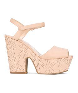 Emporio Armani | Platform Sandals 36 Leather/Rubber