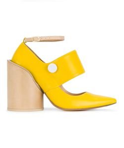 JACQUEMUS | Pointed Block Heel Pumps Women
