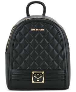 Love Moschino   Quilted Backpack One