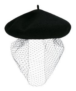 SILVER SPOON ATTIRE | Mesh Veil Beret Wool