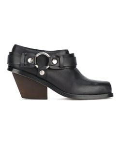 Wanda Nylon | Ring-Detail Ankle Boots