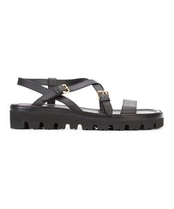 Paul Andrew | Mathsson Lug Sandals Calf Leather/Goat