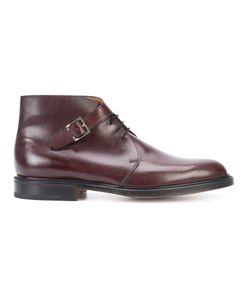 JOHN LOBB   Buckled Boots Size