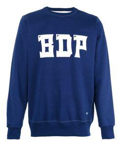 Bleu De Paname | Logo Print Sweatshirt Size Medium