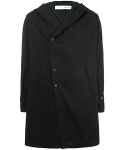 Isabel Benenato | Hooded Coat 48 Cotton