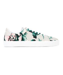 Burberry | Print Sneakers 39 Leather/Cotton/Rubber