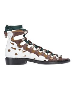 Toga Pulla | Hi-Top Lace-Up Sandals Size 36