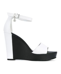 ARMANI JEANS | Ankle Strap Wedge Sandals